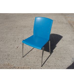Blue Konig Neurath Chairs