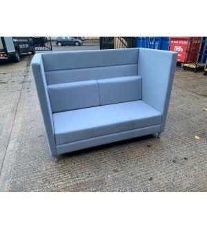 High Back 2 Seater Modular Booth