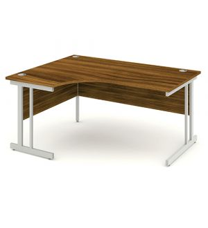 Impulse Cantilever Crescent Desk