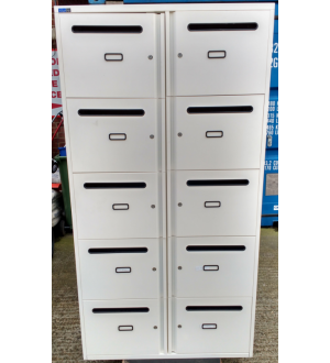 Silverline 10 Door Personal Locker