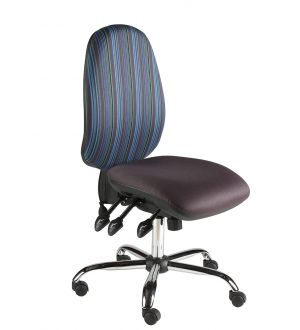 Chrome Task Chairs