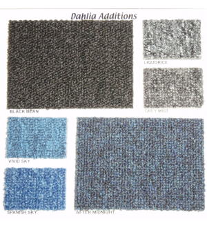 Dahlia Additions Carpet Tiles £13.50 Per Sq Metre