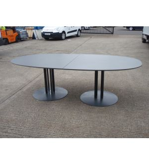 Dark Grey Boardroom Table
