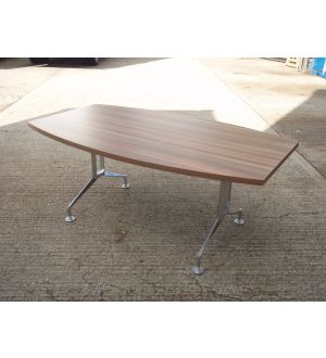 Dark Walnut 1800 x 1050 Meeting Room Table
