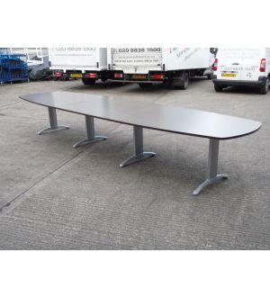 Dark Walnut Boardroom Table