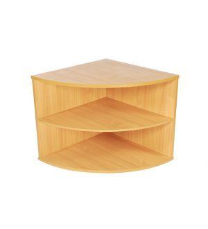 DEQ800 1 Shelf Quadrant Bookcases