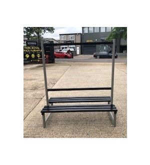 Cloakroom Benches with Hooks