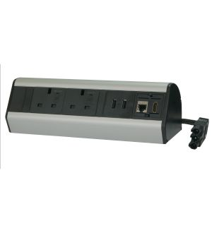 Desktop Power Box with 2m Cable