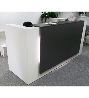 Floating Reception Desk