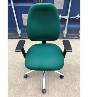 Green Operator Chair