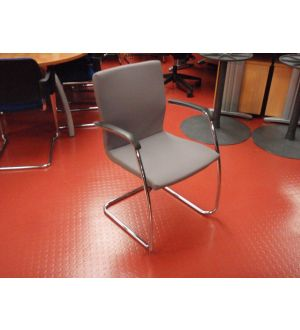 Grey Meeting Room Chair