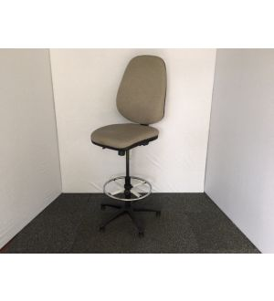 Grey Draughtsman Chair