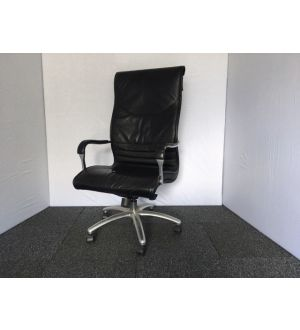 High Back Leather Executive Desk Chair