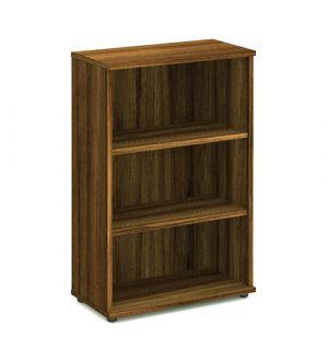 Impulse Walnut 1200 Open Bookcase