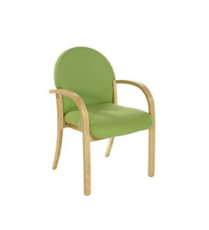 Lennox Beech Conference Arm Chair