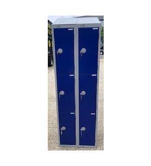 Elite 3 Door Nest of Two Lockers