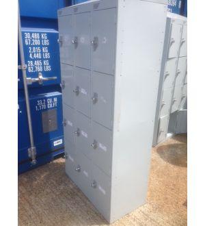 Light Grey 12 Door Lockers