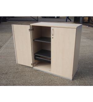 Maple 2 Door Storage 1110 x 1000