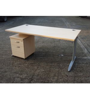 Beech or Maple 1600 x 800 Desk SALE PRICE.