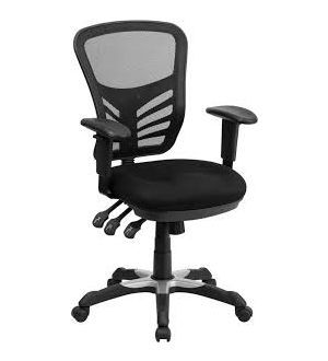 Royal Mesh High Back Chrome Swivel Base Chair