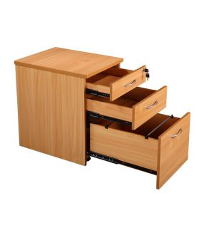 MP 3 Drawer Mobile Pedestal