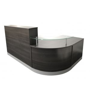 Anthracite 3 Part Reception Desk