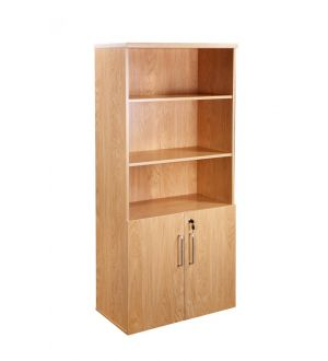 Royal American Walnut Executive Bookcase