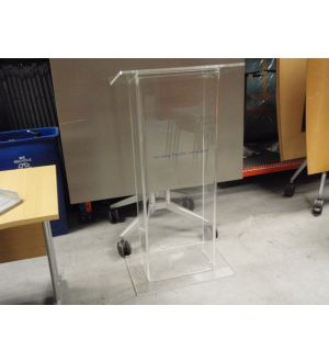 Perspex Lectern Hire Only