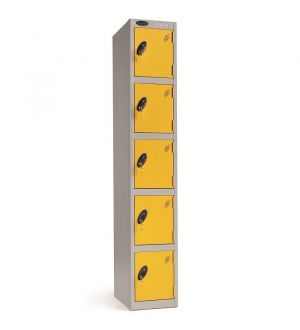 Five Compartment Lockers