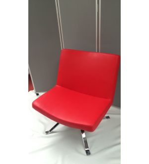Red Leather Breakout Chair
