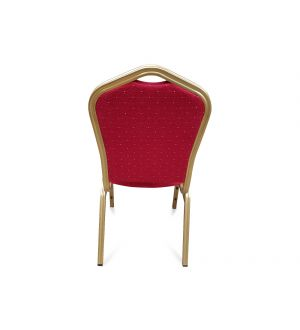 Red & Gold Frame Banqueting Chair