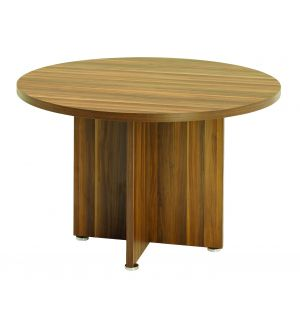 Regent Dark Walnut Meeting Table