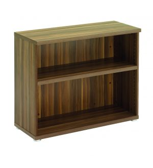 Regency Low Dark Walnut Open Storage