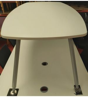 Senator Boardroom Table White