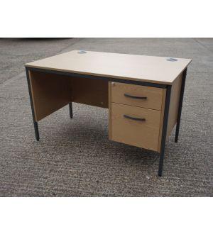 Single Pedestal Desk 1200 x 800