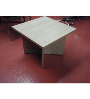 Square Oak Coffee Table