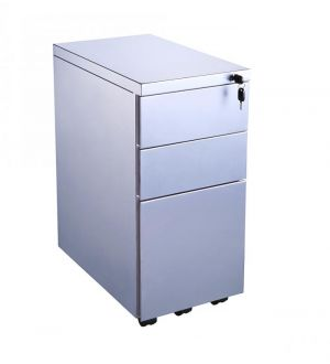 Three Drawer Slimline Pedestal