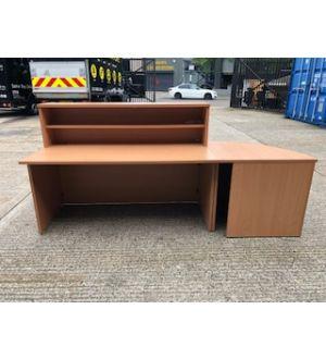 Reception Desk & Curved Return