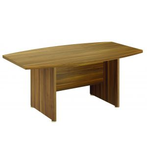 Regency Dark Walnut Boardroom Table