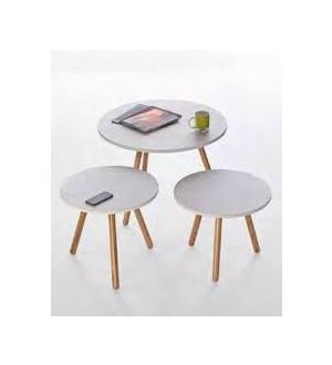 Circular Tripod Coffee Tables