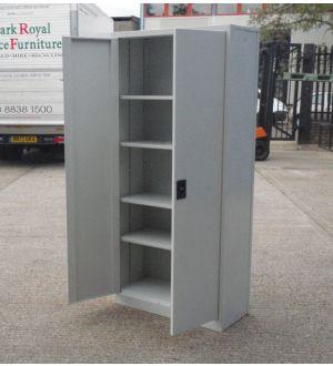 Grey Two Door Storage Cabinet 1829 x 914 x 400